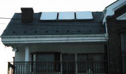 強制循環式太陽熱温水器 エコソーラー