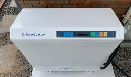 V2H 系統連系型 EVパワー・ステーション施工例