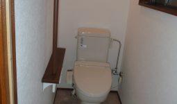 トイレ 和便から洋便にリフォーム